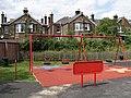 Swings in the memorial park, Redhill - geograph.org.uk - 254723.jpg