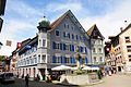 Swiss Laufenburg with a sceneric square in lovely sunshine before the rain at 8 May 2015 - panoramio.jpg