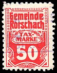Switzerland Rorschach 1909 revenue 50c - 7.jpg
