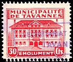Switzerland Tavannes revenue 30c 21.jpg