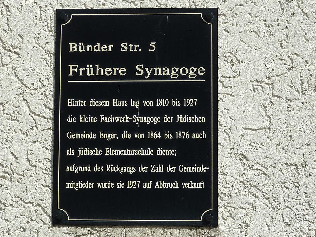 Synagoge Enger Hinweistafel.JPG