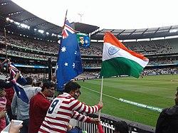 T20 World Cup Cricket Match between India Vs Australia, at MCG, Melbourne.jpg