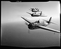 TBF's flying in formation. Fort Lauderdale, Fla - NARA - 520767.jpg