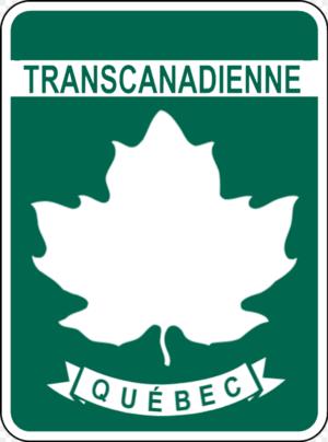 Quebec Route 191 - Image: TCH Quebec