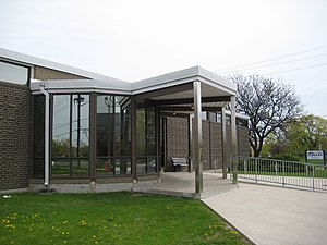 Rexdale - Toronto Public Library Rexdale Branch on Kipling Avenue