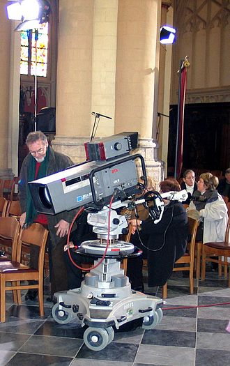 Broadcast Television Systems Inc. - Image: TV camera