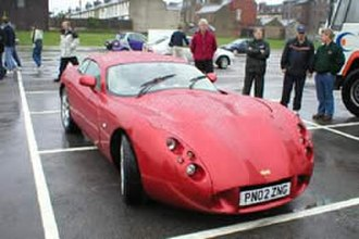 TVR Typhon - Image: TVR T400R Prototype