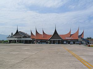 Sutan Sjahrir Air Force Base - Tabing Airport terminal (2004)