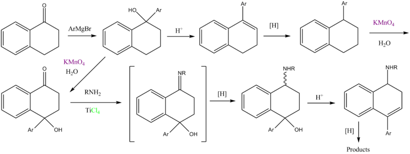 Tametraline synthesis.png