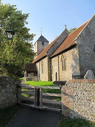 Kingston near Lewes - Tapsel gate at St Pancras Church, Kingston near Lewes