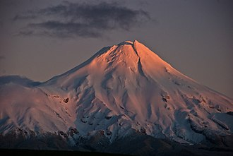 Mount Taranaki - Taranaki at daybreak 2008