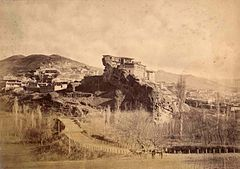 Tarkovski's Tower in Kafir-Kumukh. Daghestan. 1885.jpg