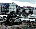 Task Force 1-26, Bradley IFV at the entrance to the Zetra Ice Area in Sarajevo.jpg