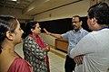 Tea Break Discussion - VMPME Workshop - Science City - Kolkata 2015-07-17 9589.JPG