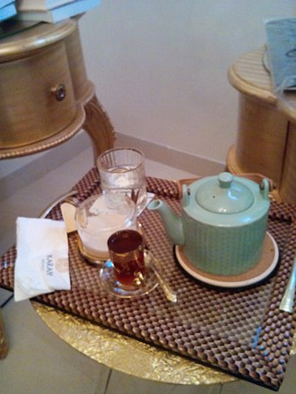 Tea party - tea table