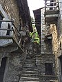 Tecett, Incella CH-6614 Brissago Central Stairway between the two structures.jpg