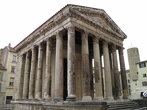 Temple of Augustus and Livia, Vienne, France (9039439703)