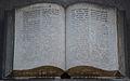 Temple protestant de Charleroi - Bible (détail du tympan).jpg
