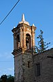 Templo de San Nicolás de Tolentino, Tlaxcala, Tlax. México (detalle del campanario).jpg