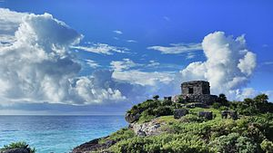 Quintana Roo - Tulum - Temple of the Wind God
