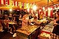 Temporary cafe, Shiroishi-jinja Festival, 2008-09-12.jpg
