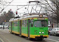 Temporary tram line 22 in Poznan (11).JPG