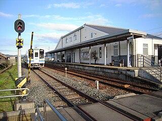 Toyooka Station (Shizuoka) Railway station in Iwata, Shizuoka Prefecture, Japan