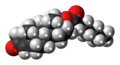 Testosterone enanthate molecule spacefill.png