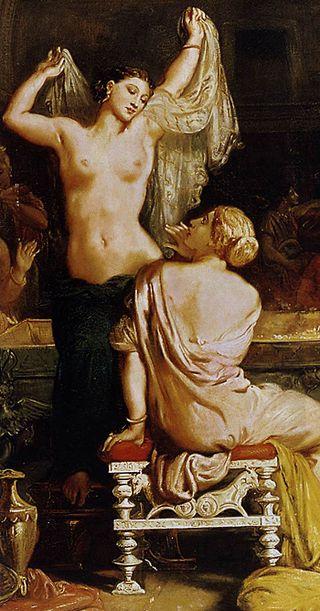 Théodore Chassériau - The Tepidarium (detail) - WGA04810.jpg