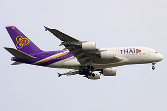 Thai Airways - Airbus A380 (HS-TUF) of Thai Airways