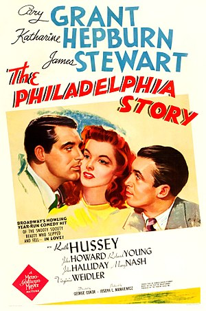 The Philadelphia Story (film) - Theatrical poster