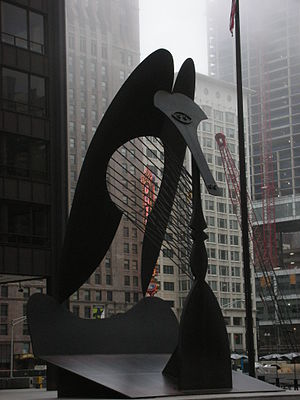 Chicago Picasso - View taken in 2007