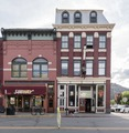 The 1892 Central Hotel, right, and an adjacent commercial building in Durango, Colorado LCCN2015632604.tif