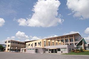 Nord Anglia International School Shanghai Pudong - Main entrance of the school