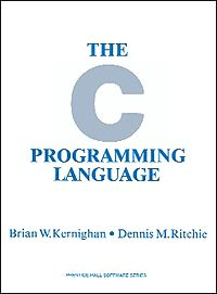"Корица на ""The C Programming Language""."