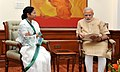 The Chief Minister of West Bengal, Ms. Mamata Banerjee calling on the Prime Minister, Shri Narendra Modi, in New Delhi on August 12, 2015 (1).jpg