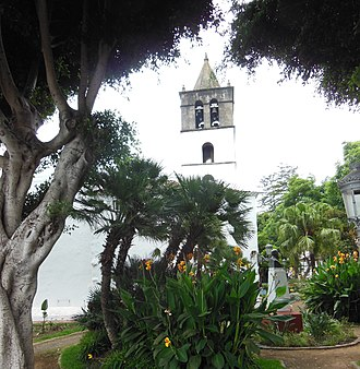Icod de los Vinos - Image: The Church of San Marcos on the Plaza de Lorenzo Cáceres, Icod de los Vinos, Santa Cruz de Tenerife, Spain
