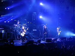 The Cure em Portugal em 2008.
