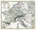 The Frankish kingdom under Charlemagne and his descendants, to 900 (Spruner-Menke, map 30).jpg