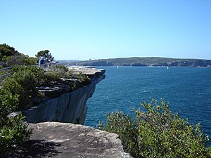 The Gap (Sydney) - Image: The Gap looking north
