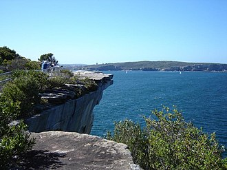 The Gap (Sydney) - Image: The Gap looking north