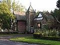 The Gatehouse at the entrance to Brayton Park, east of Aspatria - geograph.org.uk - 66159.jpg