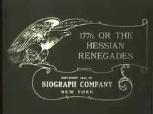 File:The Hessian Renegades (1909).webm