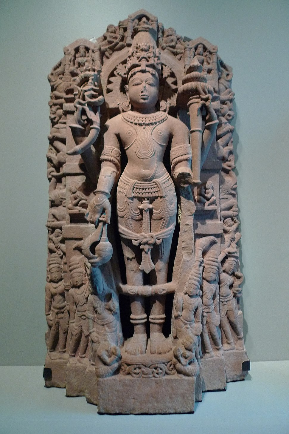 The Hindu deity Vishnu - Indian Art - Asian Art Museum of San Francisco