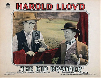 Eddie Boland - Lobby card from The Kid Brother (1927) with Harold Lloyd and Eddie Boland