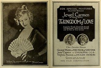Jewel Carmen - Image: The Kingdom of Love