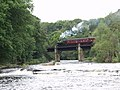 The Llangollen Railway crosses Afon Dyfrdwy at Pentre Felin - geograph.org.uk - 46308.jpg