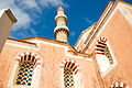 The Mosque of Suleiman (view from below). Rhodes cityscape, the island of Rhodes, the Dodecanese, Greece.jpg