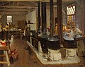 The Ordnance CO's Cookhouse, Henriville, Boulogne, 1919 by John Lavery.jpg