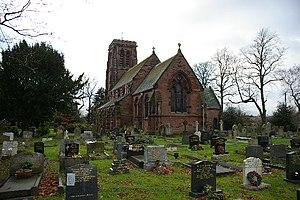 Stretton, Warrington - Image: The Parish Church of St Matthew Stretton with Appleton geograph.org.uk 113028